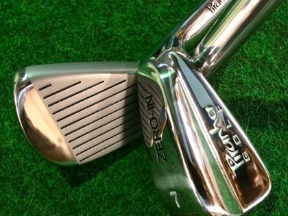 The NEW Piranha Zero-In Training Irons